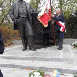 Odsłonięcie pomnika W. Korfantego