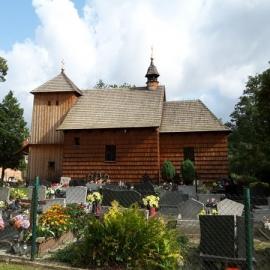 Kościół Narodzenia NMP w Szałszy z XVI XVII w