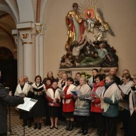 Koncert Koła Miłosników Sląskiej Pieśni