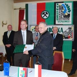 Podpisanie umowy - 25.10.2010r.