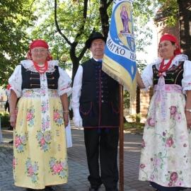 Powitanie ks. Pawła Buchty w gronie zacnych emerytów 28.08.2012