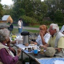 Spotkanie Barbar Śląskich w Skansenie