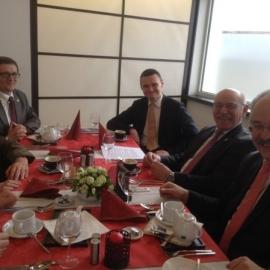 Spotkanie Zarządu Bractwa Gwarków z Burmistrzem Essen