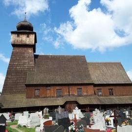 Wisła Mała kościół św. Jakuba Apostoła z 1772r.